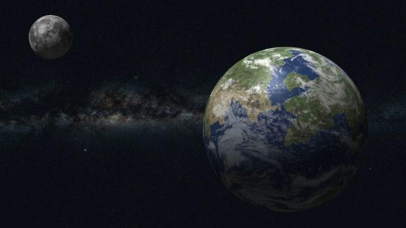 Исследователи не исключают, что на тёмной стороне Луны существуют базы или даже города инопланетян