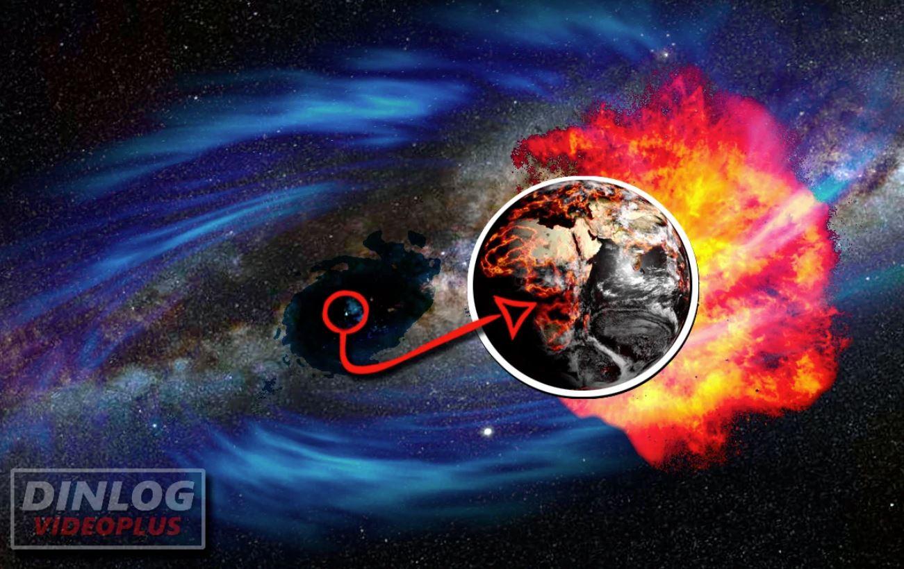 Облик Земли полностью изменяется, когда она попадает в область влияния Темной материи